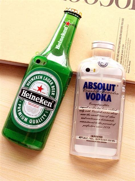 Sale Vodka Bottle Buat Iphone 5 Dan 5s fashion absolut vodka bottle transparent tpu for iphone 5 5s 3d clear silicone