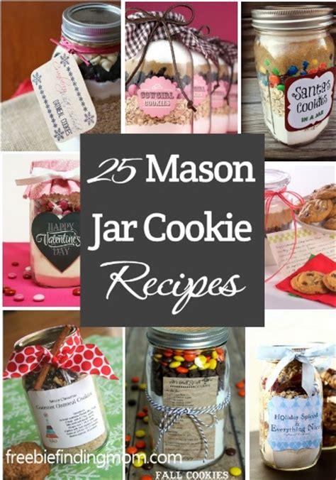 25 mason jar recipes holiday gifts in a jar freebie