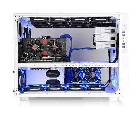 Pc Case Diy thermaltake germany core x9 snow edition ca 1d8
