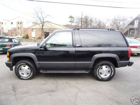 1999 2 Door Tahoe by 1999 Tahoe Sport 2 Door 4x4 For Sale Corvetteforum