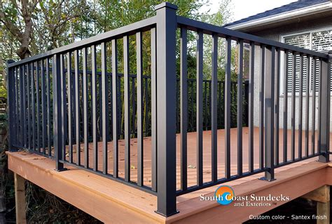 patio deck railings remarkable custom aluminum deck patio railings supply