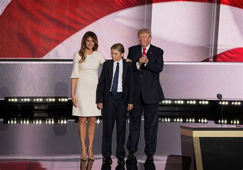 white house movers melania trump and son barron postpone moving in to the