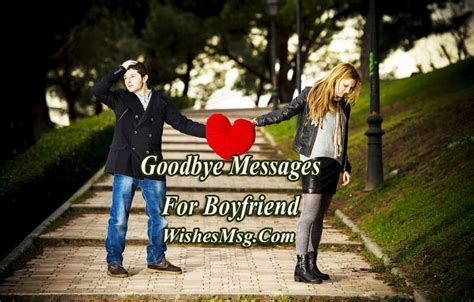 Goodbye Messages For Boyfriend   Sad Goodbye Quotes