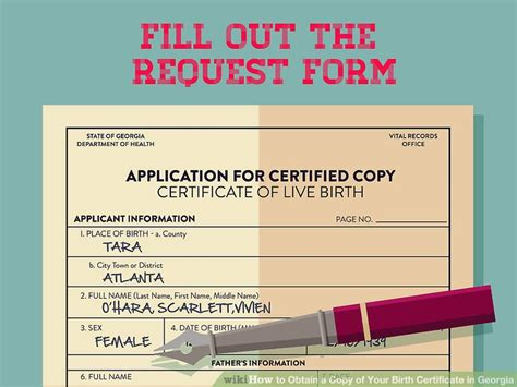 Birth Records Atlanta Ga 3 Ways To Obtain A Copy Of Your Birth Certificate In