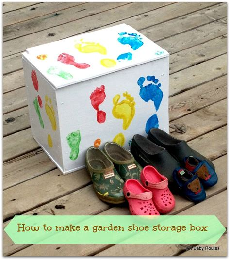 outdoor shoe box storage how to make an outdoor shoe storage box baby routes