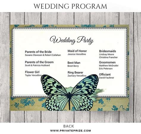 photoshop program template wedding
