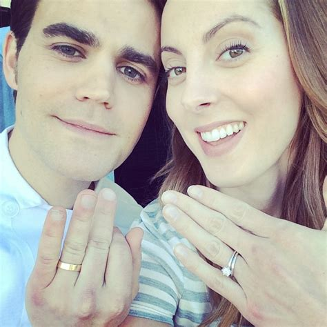 paul wesley is wearing a wedding ring but why photo
