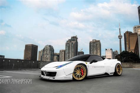 ferrari 458 liberty walk toronto s first liberty walk ferrari 458 italia gtspirit