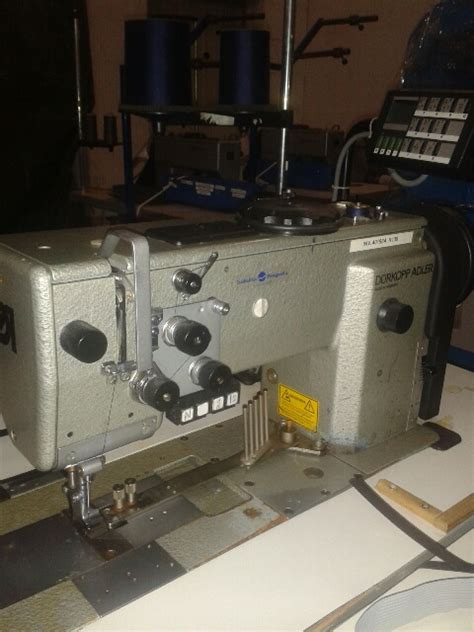awning sewing machine sieck d 220 rkopp adler kl 767 lg 73 single needle special