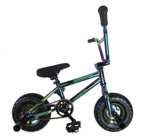 New Bergo Fatimah Mini Ltd new limited edition 1080 stunt freestyle mini bmx bike chrome black white ebay
