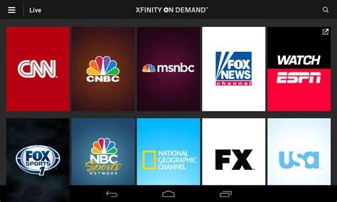 xfinity tv app android xfinity tv go apk free android app appraw