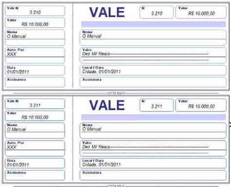 pedido de juros do abono salarial caixa recibo de vale modelos de recibo de vale para imprimir