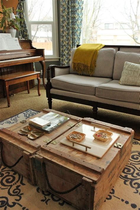 two coffee tables living room how to style a family friendly coffee table
