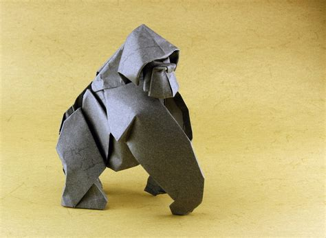 How To Make A Gorilla Out Of Paper - drawing origami tome 2 is out and it s of awesome