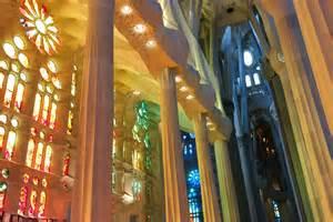 Interior Home Columns by La Sagrada Familia