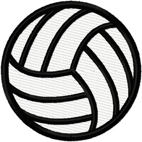 printable volleyball pattern volleyball solid fill embroidery design by digitizing