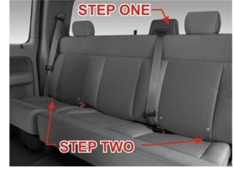 f150 backseat removal how to remove backseat of 2005 f150 solved fixya