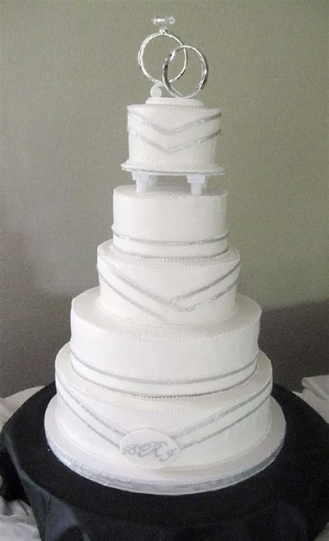 Wedding Cake Simple by Simple Silver Wedding Cakes Wedding Cake Cake Ideas By
