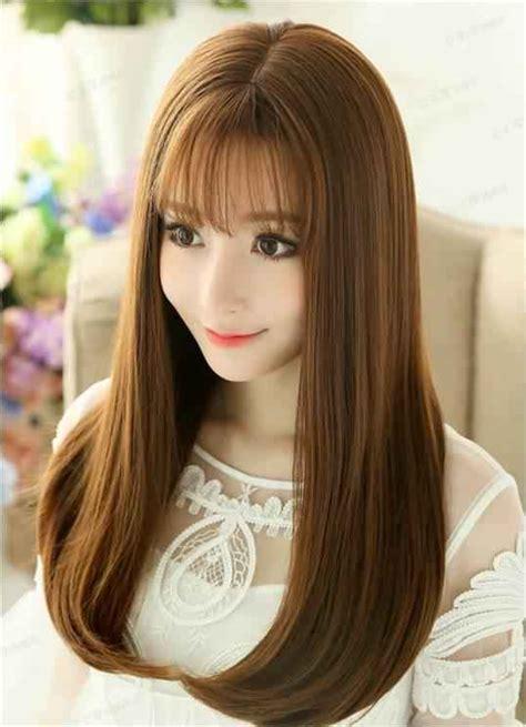 rambut panjang stile model gaya rambut panjang yang menjadi favorit wanita