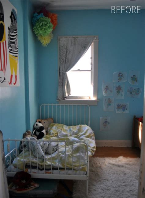 beforeafter inexpensive kids bedroom transformation
