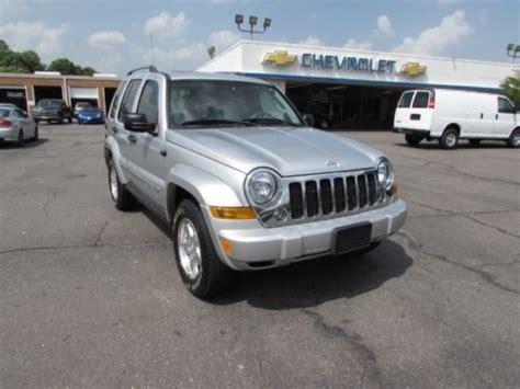 2006 Jeep Diesel Buy Used 2006 Jeep Liberty Limited Crd Turbo Diesel 4x4