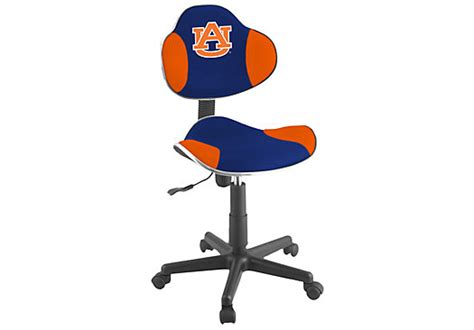 university chairs with desk auburn university desk chair seating blue