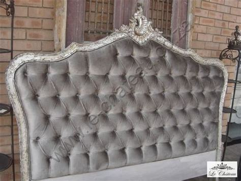 Silver Padded Headboard by B103 Silver Leaf Upholstered Headboard King Size Land Of
