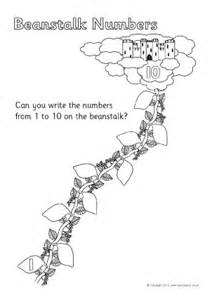 And The Beanstalk Writing Template by And The Beanstalk Teaching Resources Story Sack