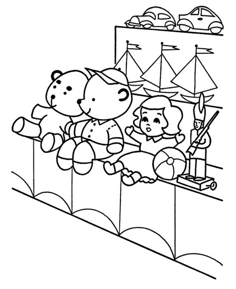 Toys Coloring Book