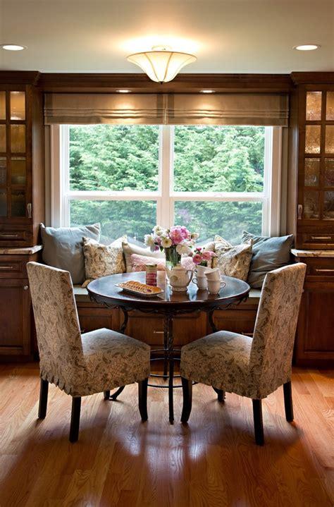 bay window furniture kitchen farmhouse  banquette