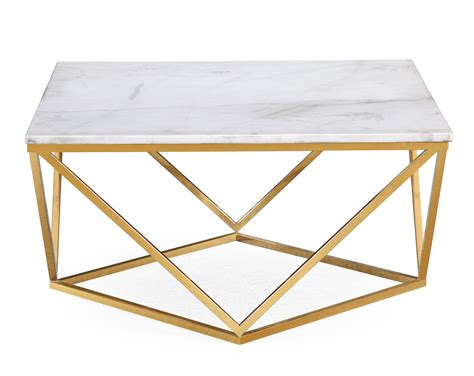 Marble Gold Cocktail Coffee Table Picks