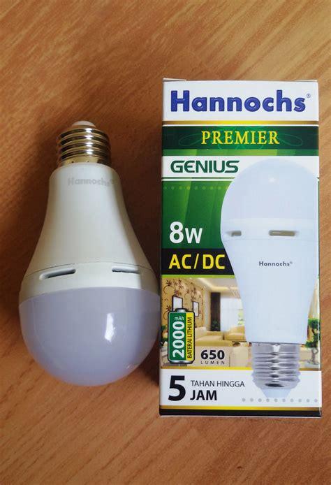 Lu Hannochs Ac Dc jual lu led ac dc hannochs 8 watt lu emergency