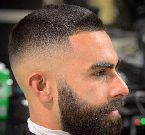 cortes de pelo hombre pelo corto cortes de pelo corto hombre degradado con barba