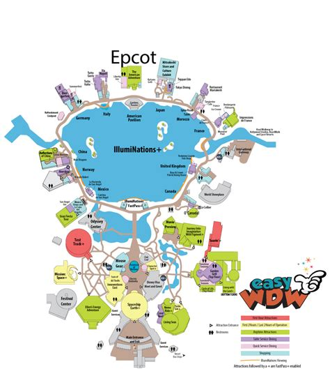 printable map epcot related keywords suggestions for epcot map 2016