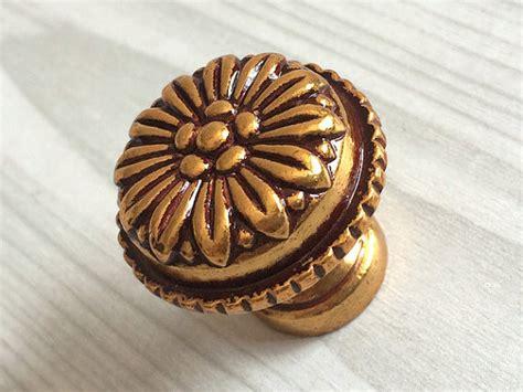 Decorative Furniture Knobs by Antique Gold Brass Dresser Knob Drawer Knobs Pulls Handles