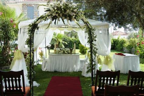 garden wedding oludeniz weddings