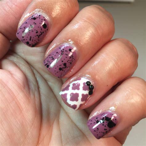 moroccan pattern nails beauty tips for women purple moroccan quatrefoil manicure