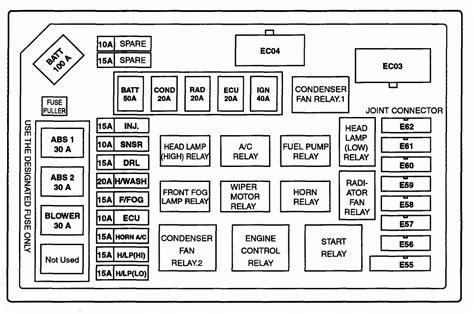 2007 hyundai accent fuse box diagram wiring automotive
