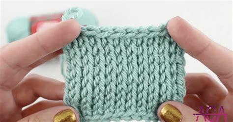 crochet stitch that looks like knit tunisian crochet stitches free tutorials