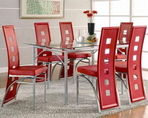 dining coaster los feliz black metal chair coaster fine coaster los feliz contemporary metal set w red chairs co
