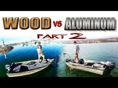 bass boat vs jon boat building boats with wood vs aluminum jon boat to bass