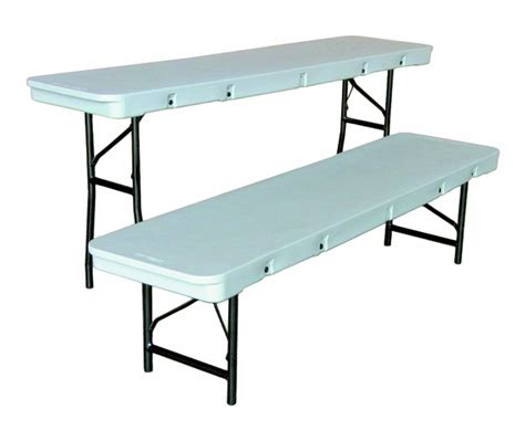 72 inch folding table commercialite plastic folding table 72 inch x 18 inch