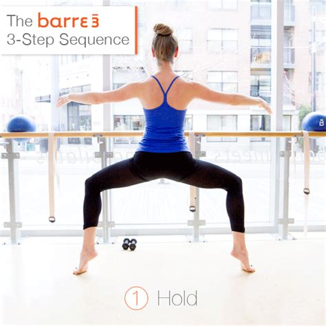the barre3 3 step sequence barre3
