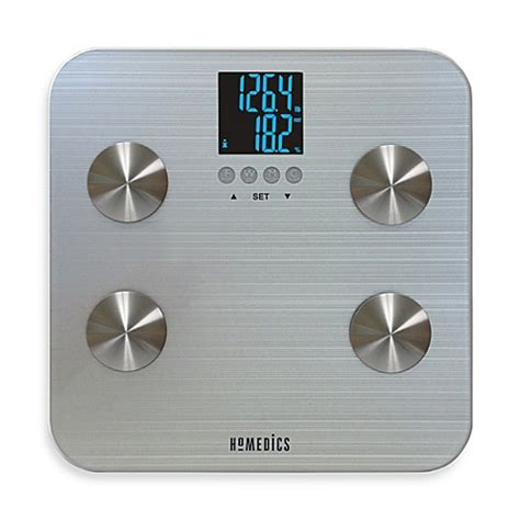bed bath and beyond bathroom scales homedics 174 531 healthstation 174 body fat bathroom scale bed