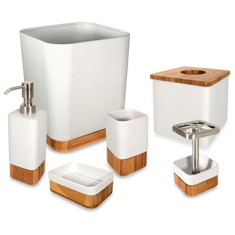 buy bamboo bath accessories from bed bath beyond