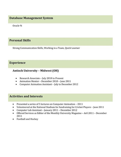 word resume samples 12 professional cv format doc templates