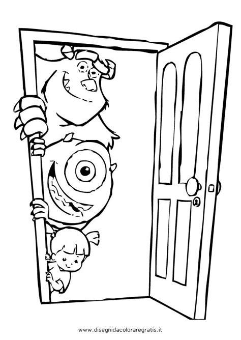 disegni di porte disegno porta 07 da colorare