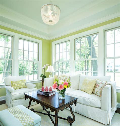 grey shingle home  cheerful coastal interiors home