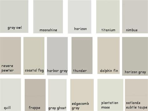 behr paint colors shades of gray paint benjamin greige shades gray owl