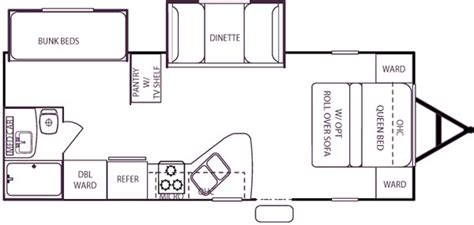 wildwood rv floor plans 2006 forest river wildwood west travel trailer rvweb com